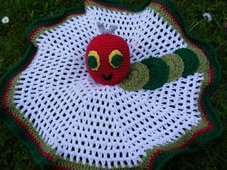 Crochet Caterpillar Baby Blanket Pattern : Ravelry: Pattern to Crochet a Babys Comfort Blanket with ...