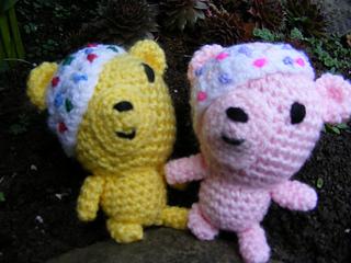 Pudsey Bear Knitting Pattern : Ravelry: Pattern to Crochet Pudsey Bear pattern by Emma L Jones