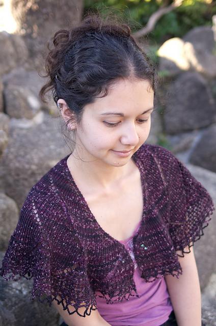 """披肩:亚玛兰塔的""""女人的薄披肩"""" - maomao - 我随心动"""