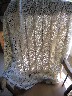 Patons Free Crochet Afghan Patterns : Ravelry: Irish Lace Blanket pattern by Patons