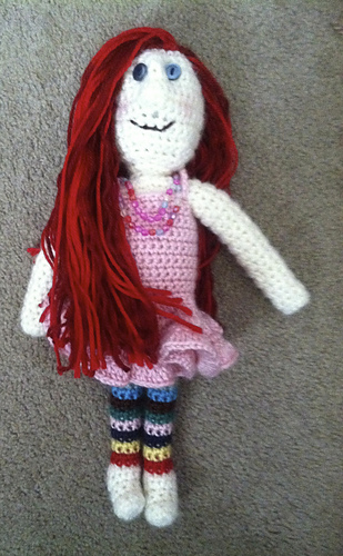 Ravelry Dress Up Doll Pattern By Family Bugs