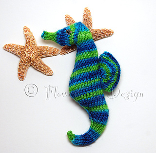 Ravelry: Seahorse Pattern pattern by cheezombie