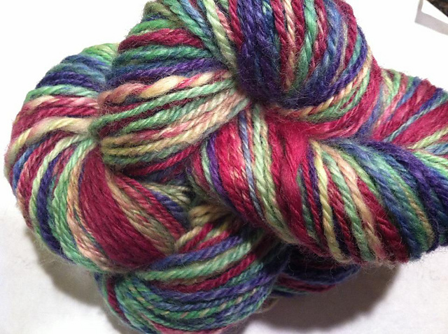 """County Fair for Girls"" Handspun BFL"