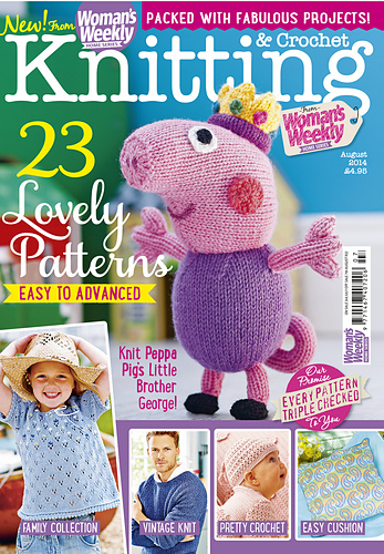 Ravelry: Womans Weekly Knitting & Crochet, August 2014 - patterns