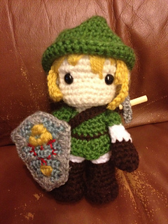 Ravelry: Link (Legend of Zelda) Amigurumi pattern by ...