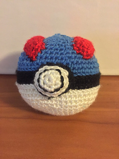 Ravelry: Great Ball Amigurumi pattern by Geeky Sagittarius