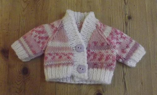 Ravelry Double Knit V Neck Raglan Premature Baby Cardigan