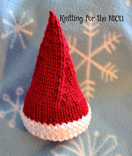 Mini Elf Knitting Pattern : Ravelry: Elf on the Shelf Christmas Hat for Micro Preemie ...