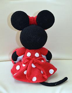 Amigurumi Free Minnie Mouse Pattern : Ravelry: Mini Minnie Mouse Amigurumi pattern by Laila Saide