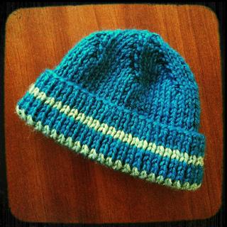Ravelry Girl S Boy S Knitted Beanie Pattern By Samaritan