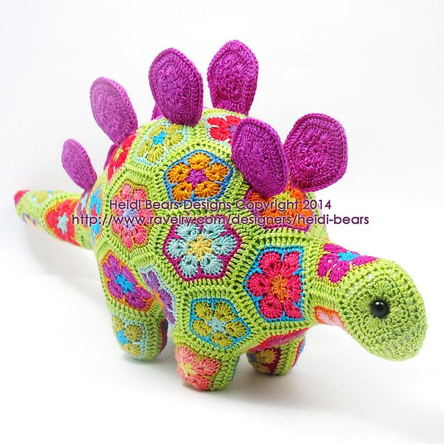 Stegosaurus - Blij dat ik brei