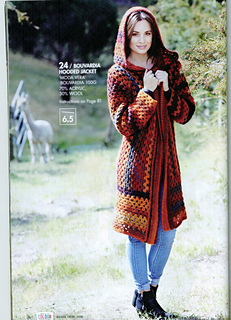 Ravelry: Bouvardia Hooded Jacket pattern by Spotlight