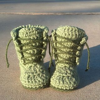 Ravelry: LiL Man Work Boots pattern by Hook N Knit Designs