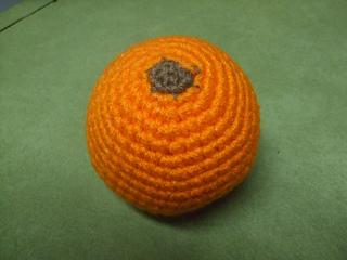 Peelable Orange Amigurumi : Ravelry: Orange pattern by Joy Koestner