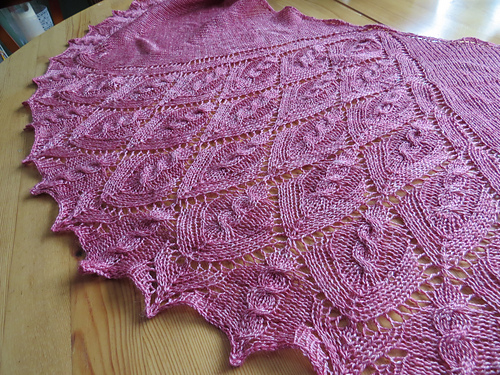 Bryce Canyon Shawl PDF