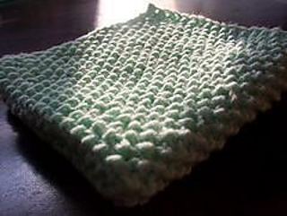 Insanity Blanket Knitting Pattern : Ravelry: Seed Stitch Baby Blanket pattern by Invisible Insanity