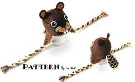 Free Beaver Dolls Amigurumi Crochet Patterns