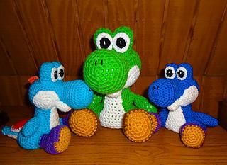 Amigurumi Teddy Bear Crochet Pattern : Ravelry: Yoshi amigurumi pattern by Jennie Faith
