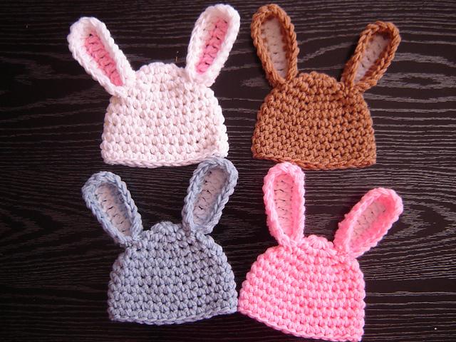 Free Crochet Pattern For Bunny Ears : 365 Crochet
