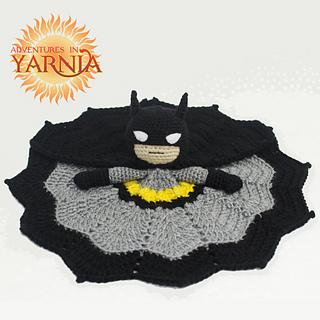 Ravelry: Batman Lovey pattern by Adventures in Yarnia
