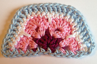 Ravelry: Half African Flower pattern by JOs Crocheteria