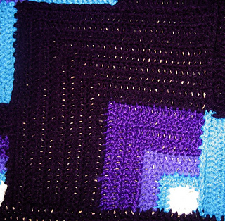 Ravelry Mandala Geometric Crochet Blanket Pattern By Toni