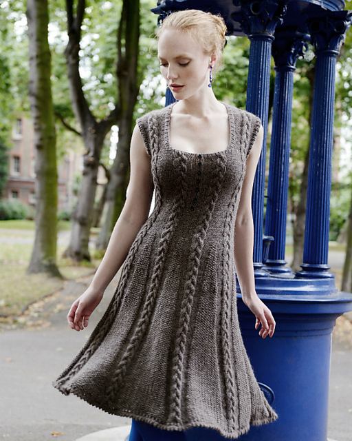 Icon Dress by Purl Alpaca Designs