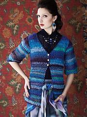 #27-Crochet V-Neck Cardi PDF
