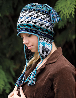 Ravelry: Andean Chullo Hat pattern by Kerin Dimeler-Laurence