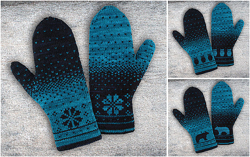 Double Knit Mittens Free Pattern : Ravelry: Yuma Double Knitting Mittens pattern by Alexandra Wiedmayer
