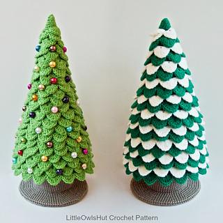 Amigurumi Christmas Tree Patterns : Ravelry: 085 Christmas tree New Year pattern by LittleOwlsHut
