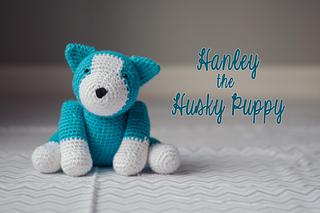Ravelry: Hanley the Husky Puppy Amigurumi pattern by ...