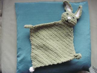 Ravelry: Bunny Blanket Buddy (Crochet) #50722-2 pattern by ...