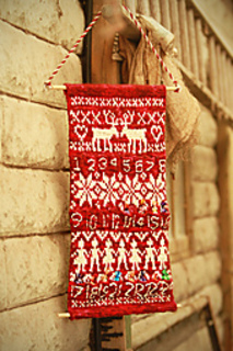 Knitting Pattern Christmas Advent Calendar : Ravelry: Countdown to Christmas pattern by Kate Heppell