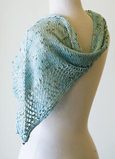 Free Knitted Shawlette Patterns : Ravelry: Stargazing Shawlette pattern by knitculture.com