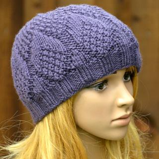 Pine Cone Knitting Pattern : Ravelry: Womens Pine Cone Beanie KPWB10 pattern by Marisa Perrin