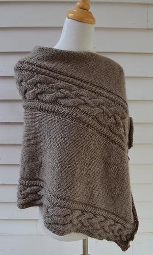 Knitting Websites Ireland : Ravelry irish coffee poncho pattern by knit pearls