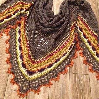 Ravelry: Sunday Shawl pattern by Alia Bland