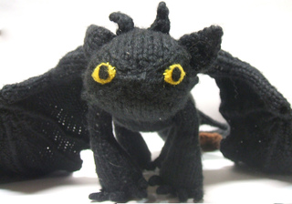 Knit Dragon Pattern : Ravelry: Toothless pattern by Mari Campbell