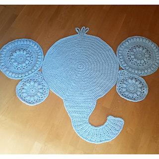 Ravelry Lbk63 S Makenzie S Elephant Rug