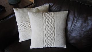 Ravelry Celtic Knot Pillow Cover Pattern By Jennifer Wilby