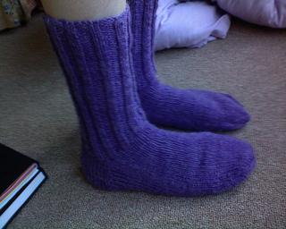 Knitting Pattern For Rubber Boot Socks : Ravelry: Vogue Knitting on the Go: Socks - patterns