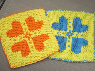 Ravelry: Double Knit Potholder pattern by Lauras Knits