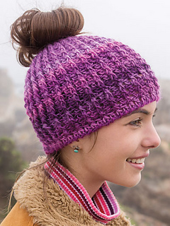 Ravelry Messy Bun Crochet Hat Pattern By Lena Skvagerson