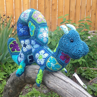 Ravelry: Hydra the African Flower Large Ogopogo pattern by ...