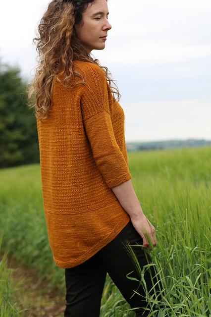 Short Row Knits Riyito Sweater