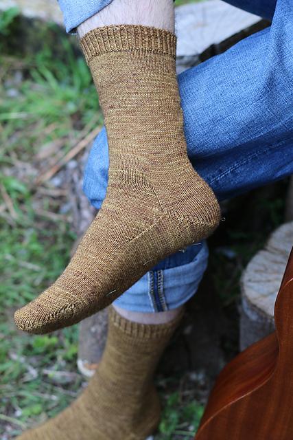 Claro Sock knitting pattern by Carol Feller in Susquehanna Knitting Company Susquehanna Sock