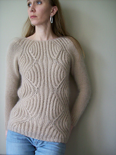 Ravelry Mary Margaret Brioche Pullover Pattern By Wee Sandy