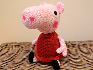 Amigurumi Tutorial Peppa Pig : Ravelry: Peppa Pig plush amigurumi pattern by Lotties ...