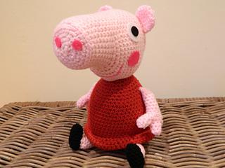 Amigurumi Peppa Pig Tutorial : Ravelry: Peppa Pig plush amigurumi pattern by Lotties ...